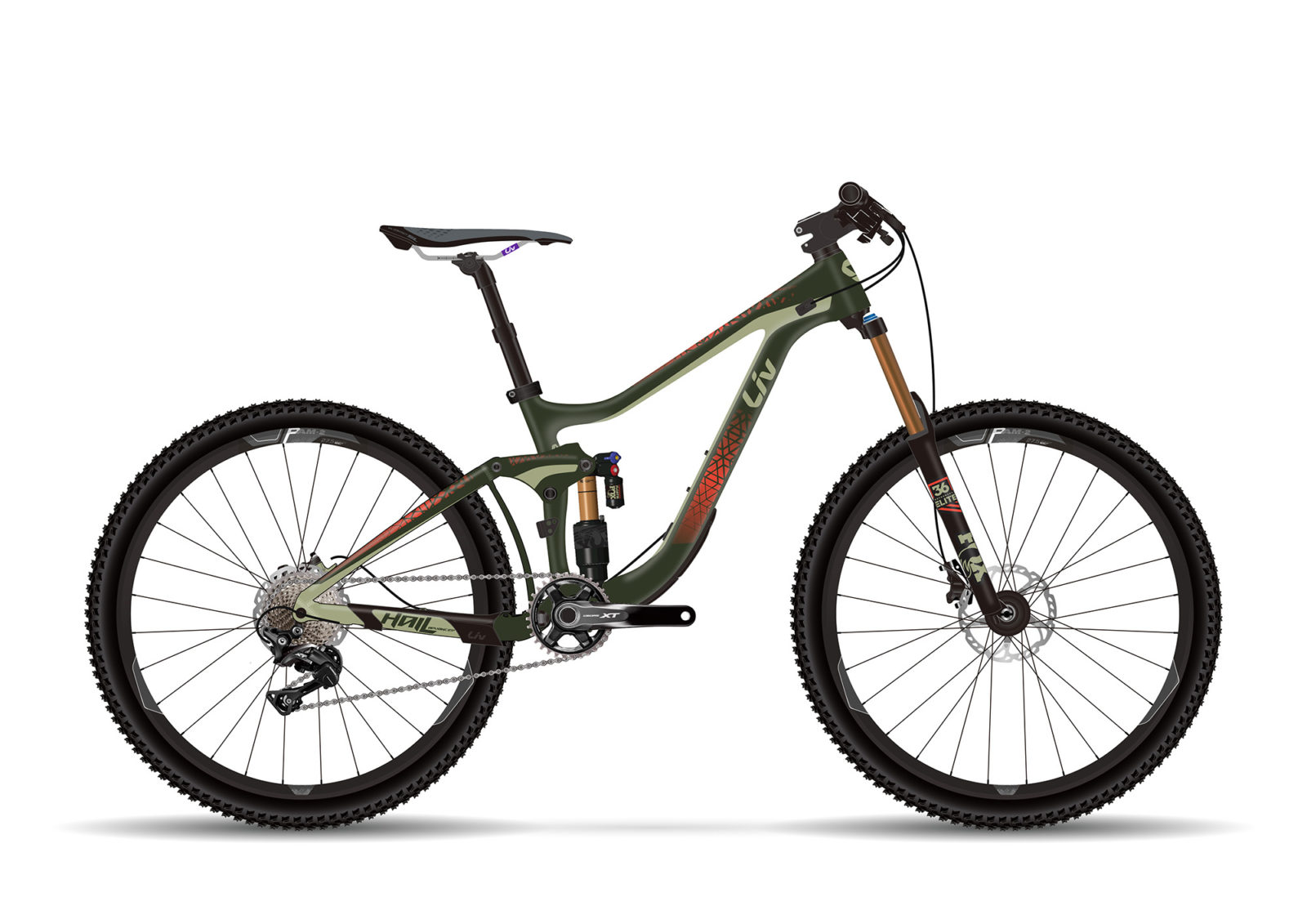 Liv MTB Hail Advanced 1 2017