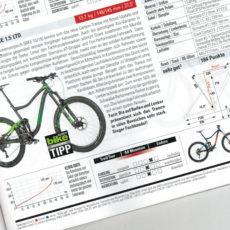 bike 02/2017 – Fachhandel TIPP – Giant Trance 1.5 LTD
