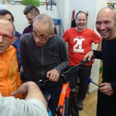 Willi Laich – Inhaber FOX Zweiradtechnik bildet sich weiter