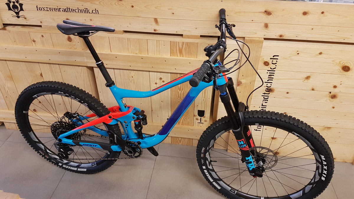 Ausstellungsmodell Giant Trance Advanced 1