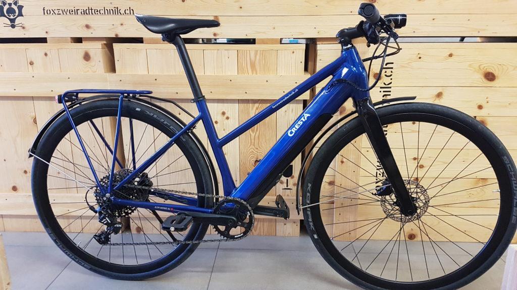 Testvelo Cresta E-Bike EEterna Arround